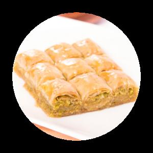 best arab dessert pistachio bakalava